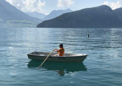 Terhi 385 Ruderboot Vierwaldstättersee