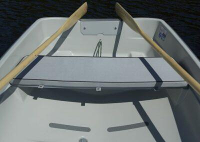 Terhi 385 Ruderboot mit Sitzpolster und Ruder