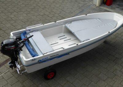 Terhi 400 Kleinboot - Innenansicht