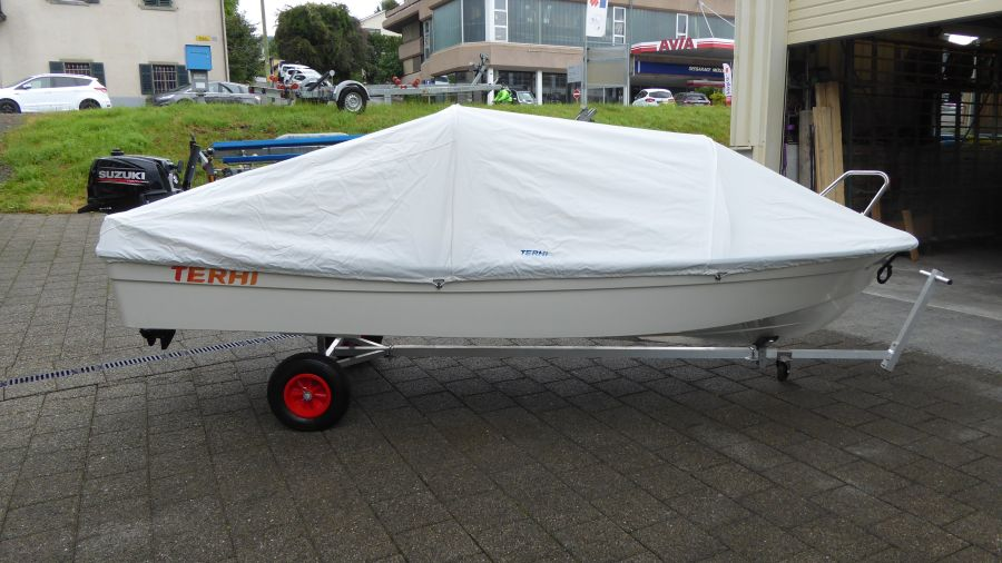 Terhi 400 Kleinboot Persenning für Trockenplatz