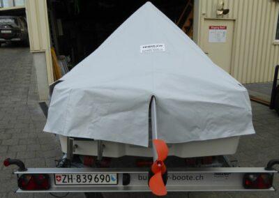 Terhi 400 Kleinboot - Massgeschneiderte Hafenpersenning