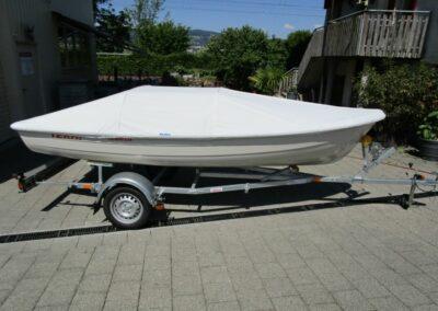 Terhi 440 Ruderboot Persenning (Trockenplatz)
