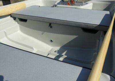 Terhi 440 Ruderboot mit bequemen Sitzkissen