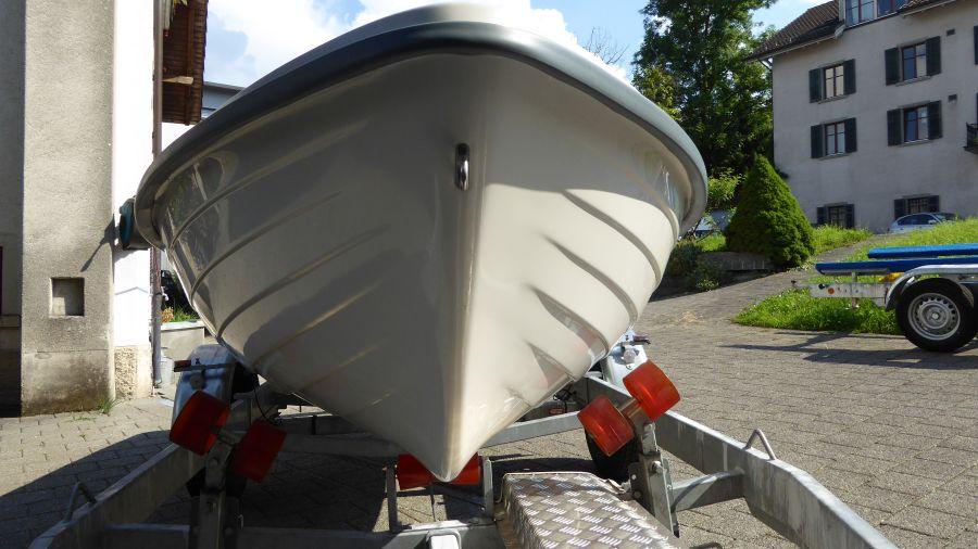 Terhi 440 Ruderboot Klassische Ruderboot Form