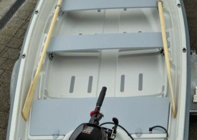 Terhi 440 Ruderboot - Innenansicht