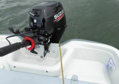 Terhi 440 Ruderboot mit prüfungsfreiem Aussenborder