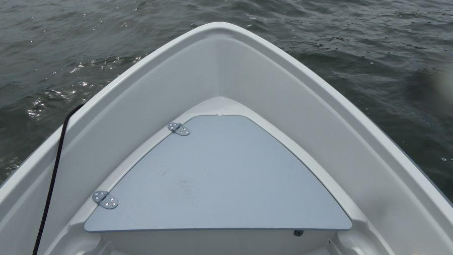 Terhi 440 Ruderboot mit abschliessbarem Staukasten