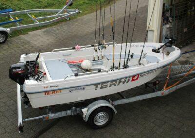 Terhi 445 klassisches Fischerboot
