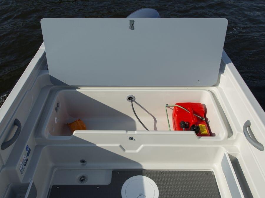 Terhi 445 Fischerboot mit Stauraum