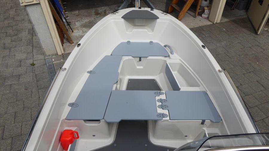 Terhi 450 C Familienboot Sitzfläche Variante