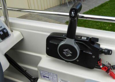 Terhi 450 C Familienboot - Schaltbox