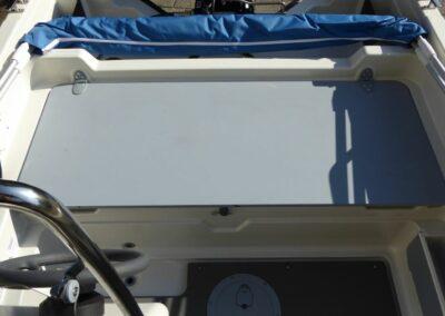 Terhi 450 C Familienboot - Technik versteckt