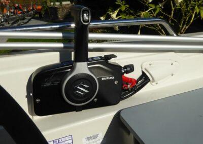 Terhi 450 C Familienboot Schaltbox für die Motorbedienung