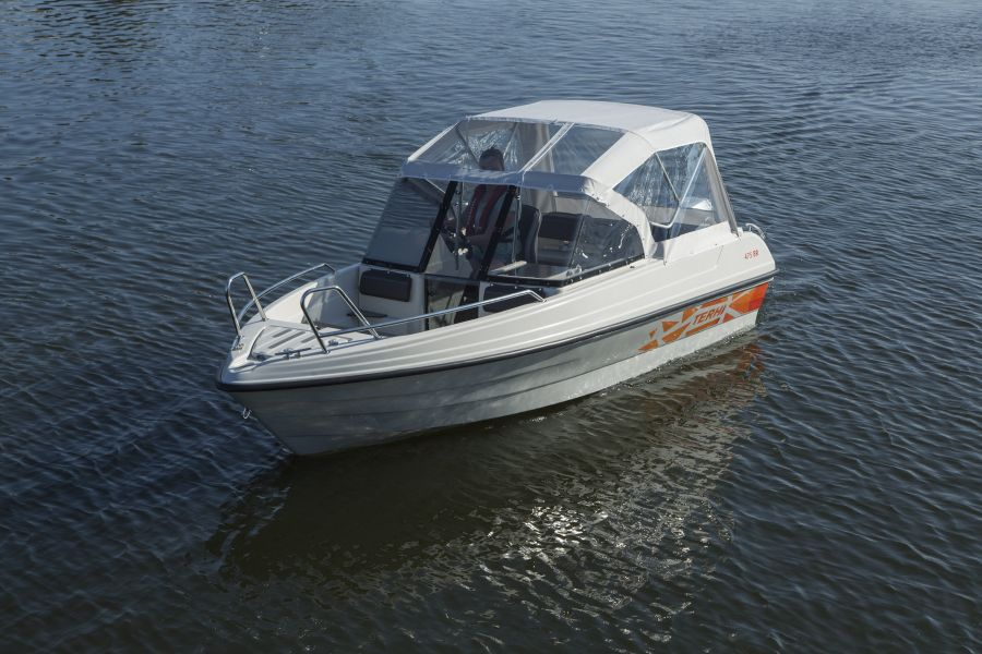 Terhi 475 BR Familienboot mit Regendach