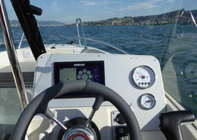 Terhi 475 BR Familienboot - Ansicht Cockpit