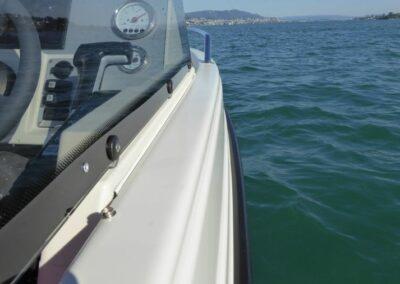 Terhi 475 BR Familienboot - Detailansicht
