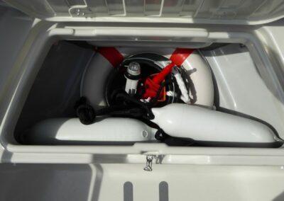Terhi 475 BR Familienboot - Notausrüstung