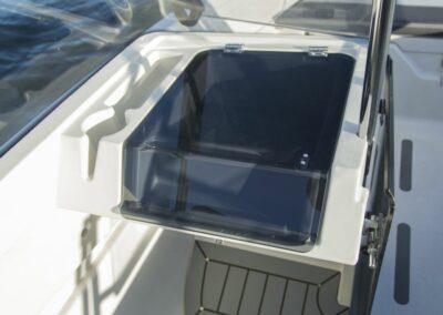 Terhi 475 BR Familienboot - Aufbewahrung