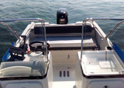 Terhi Twin C Konsolenboot - Ansicht Doppelkonsole