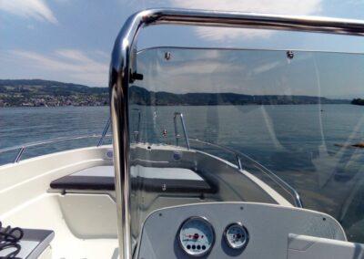 Terhi Twin C Konsolenboot - Konsole mit Windschutz