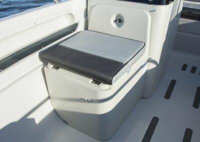 Terhi Twin C Konsolenboot mit abschliessbarem Aufbewahrungsfach