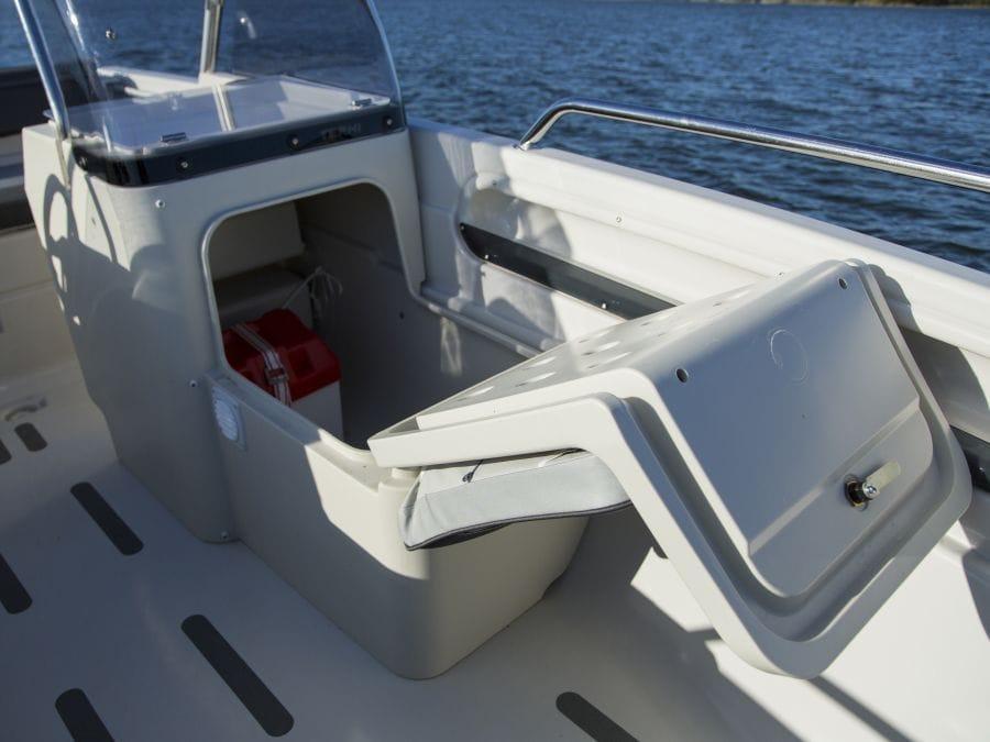 Terhi Twin C Konsolenboot - Aufbewahrung