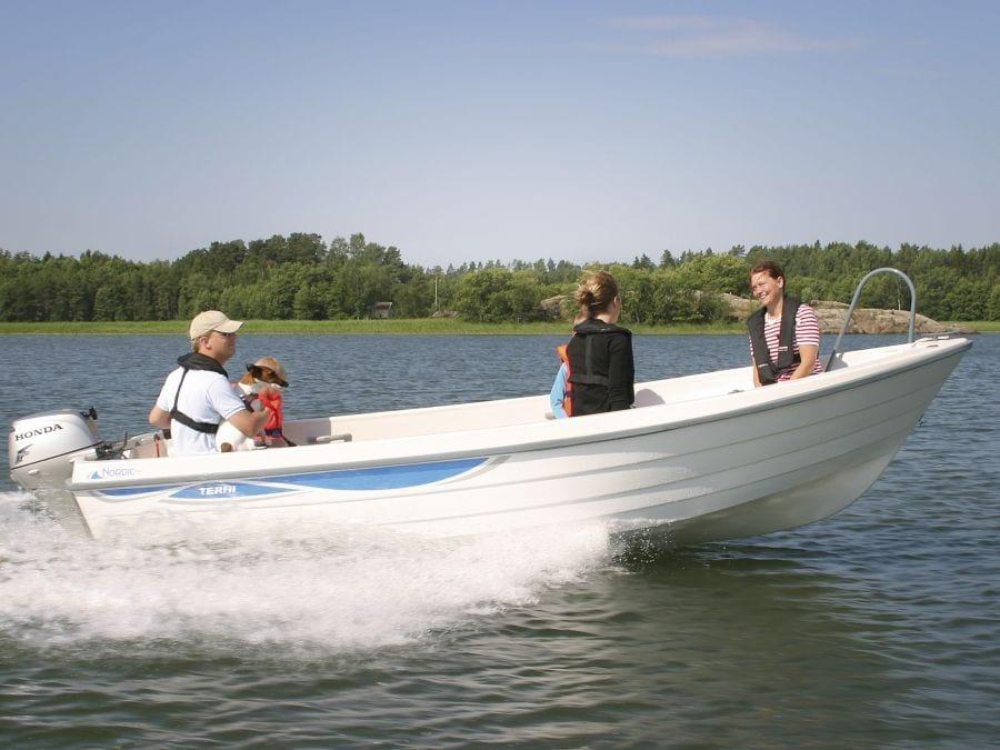 Terhi Nordic 6020 im Einsatz