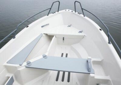 Terhi Nordic 6020C Fischerboot mit Sitzfläche und Aufbewahrung
