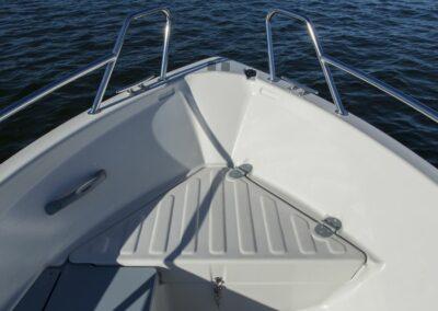 Terhi Nordic 6020C Fischerboot - Sitzfläche und Einstieg