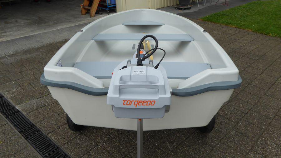 Terhi Sunny 310 Kleinboot mit Elektroantrieb