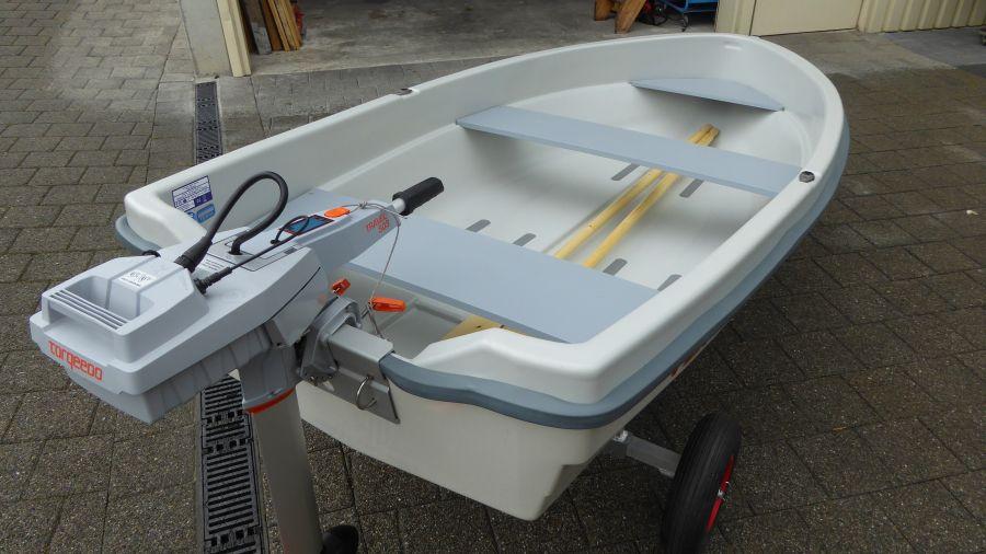 Terhi Sunny 310 Kleinboot Elektroantrieb