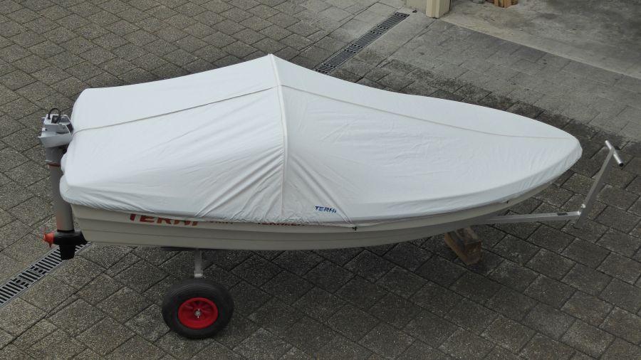 Terhi Sunny 310 Kleinboot mit Alubügel Persenning