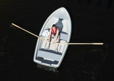 Terhi Sunny 310 Kleinboot im Einsatz