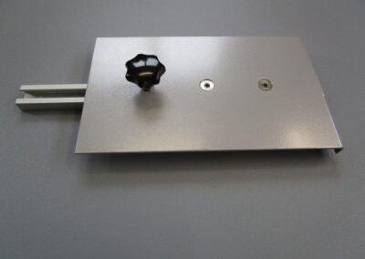 Sensorhalter für Echolotmontage am Heck