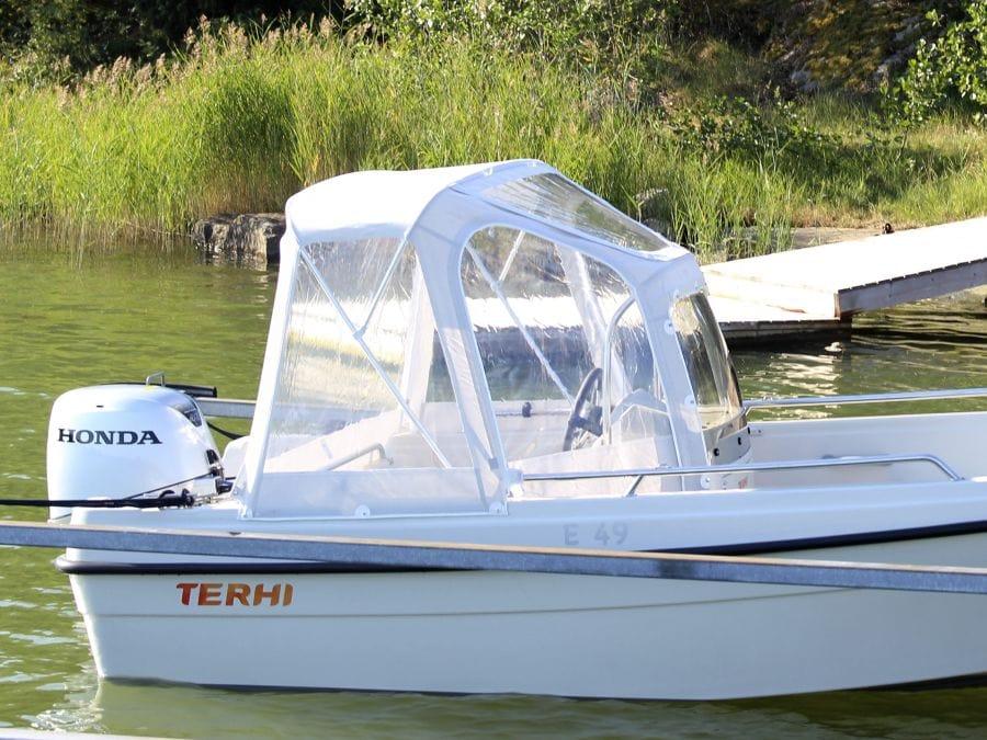 Terhi 450CC - Heckpersenning