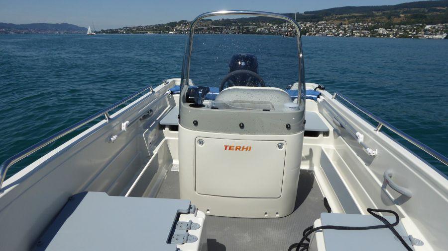 Terhi 450CC - Steuerstand