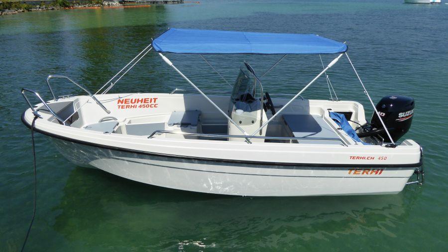 Boot Terhi 450 CC - Sonnenbimini