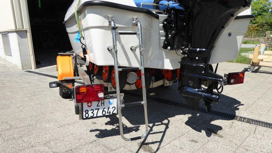 Boot Terhi 450 CC - Badeleiter