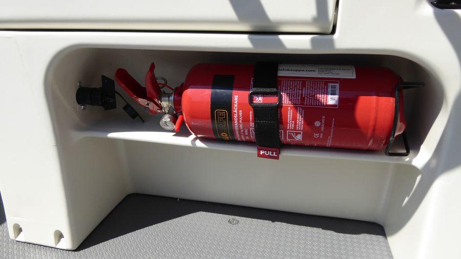 Terhi Boot 450CC - Sicherheit