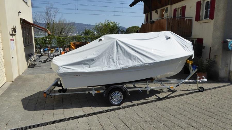 Konsolenboot Terhi 450CC Ganzpersenning