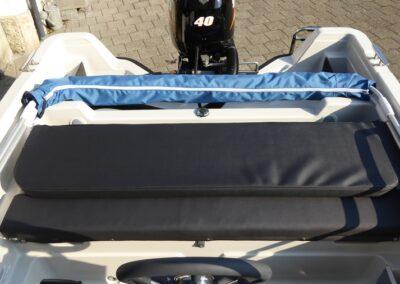 Terhi 450 CC Rückenlehne - heruntergeklappt
