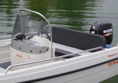 Konsolenboot Terhi 450CC - Steuerstand