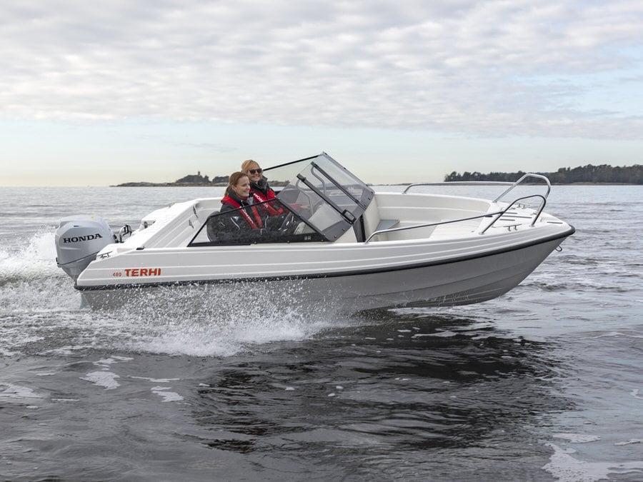Das kleine Sportboot macht Spass Terhi 480 BR