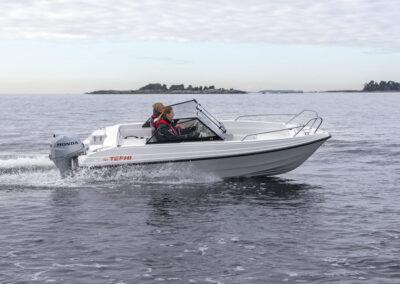 Terhi 480 Sportboot mit kompakten Abmessung - nur 1.85 breit