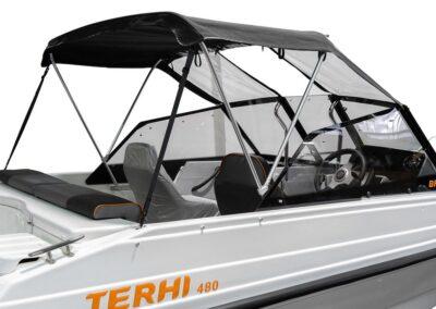 Terhi 480 Fahrpersenning / Regen und Sonnenschutz