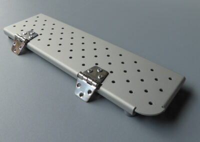 Bodenablaufblech Terhi 445/450 aus Aluminium 7003460-TER