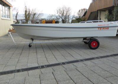 Aluminium Slipwagen zu Terhi
