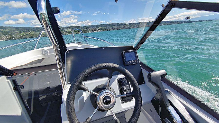 Steuerstand Terhi Boot Schweiz kaufen