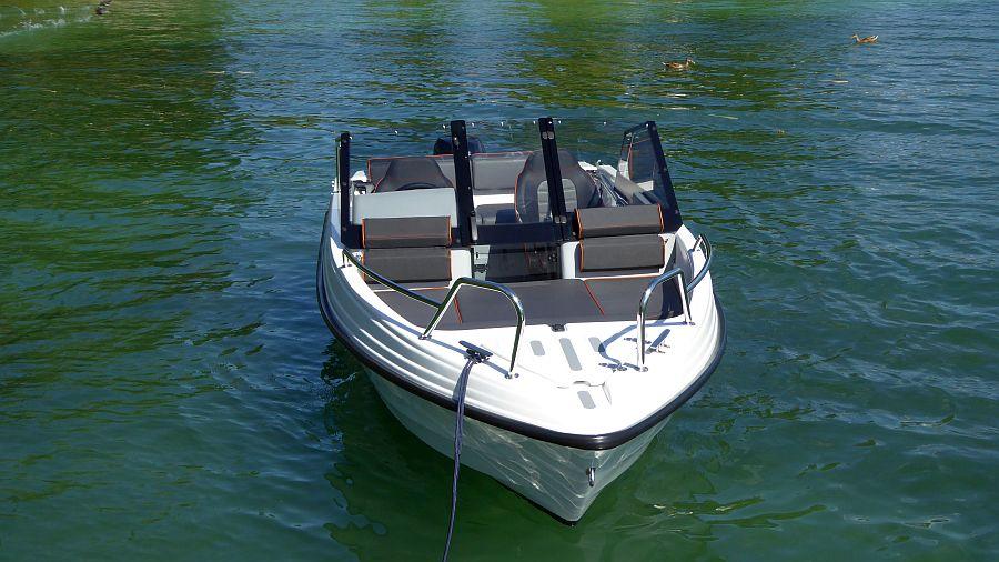 Bugreling Edelstahl Terhi Boot 480