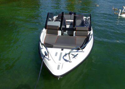 Bugreling Terhi Boot 480 Sonnenpolster
